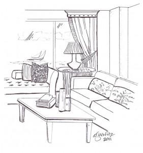 brochure sketch
