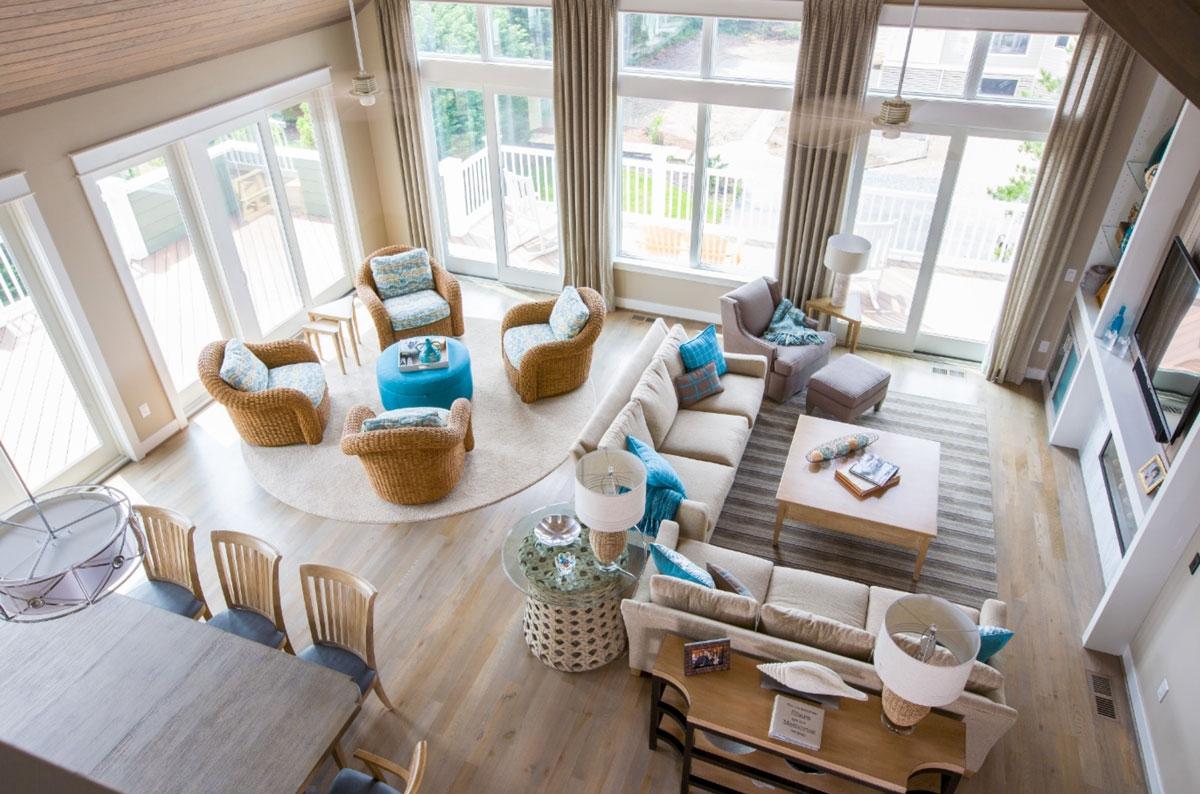 Gulls Nest living room