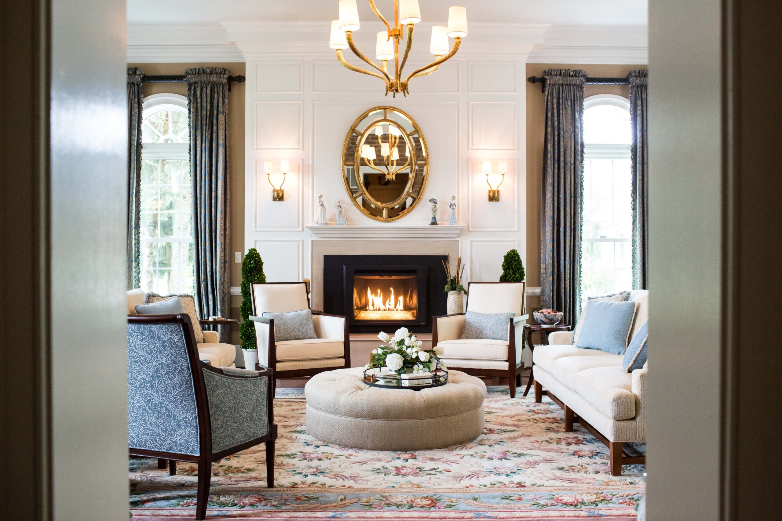 fitzsimmons design living room interior design