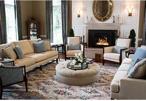living room, classic design, interior design